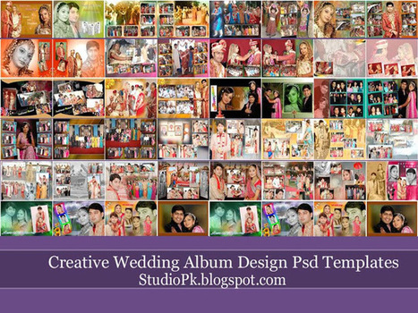 Wedding Album Design Templates Psd Free Downloa