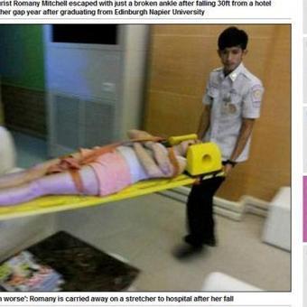 En vacances en Thaïlande, elle fait une chute de 9 mètres et s'en sort | Thailande Info | Scoop.it
