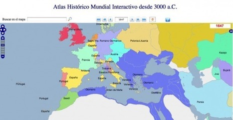GeaCron, Atlas Histórico Mundial interactivo | De interés educativo | Scoop.it