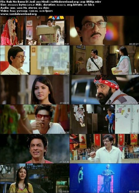 Rab Ne Bana Di Jodi telugu movie torrent free download