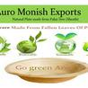 Areca Palm Leaf Plates - Auro Monish Exports - Go green Areca