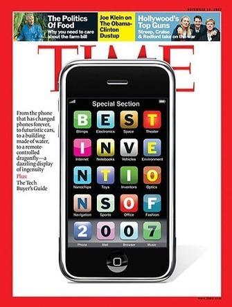 l'iPhone, Invention de l'année 2007, retour sur 5 ans vu par des Pros de l'industrie du mobile | cross pond high tech | Scoop.it