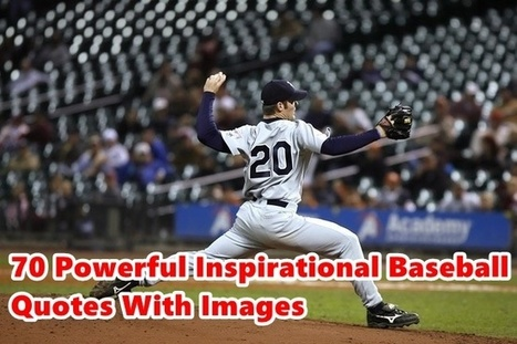 Top 70 Powerful Inspirational Baseball Quotes W