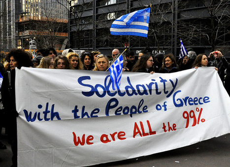 Avec les Grecs contre l'austérité / pour la démocratie / solidarité | Occupy Belgium | Scoop.it