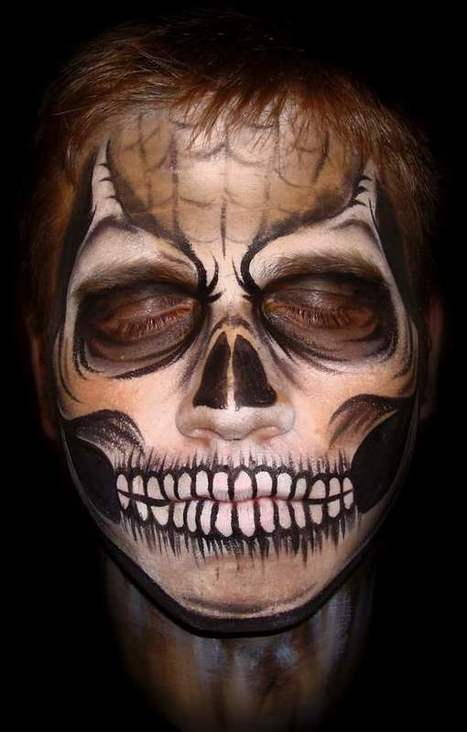 Halloween Face Painting Ideas For Men Women And