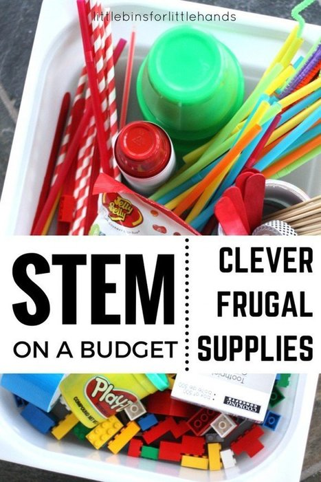Inexpensive STEM Ideas for Kids STEM Activities | STEM and education | Scoop.it