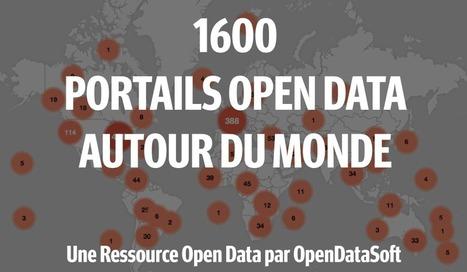 La Liste des 2500 Portails Open Data à Travers le Monde | Innovation & Data visualisation | Scoop.it