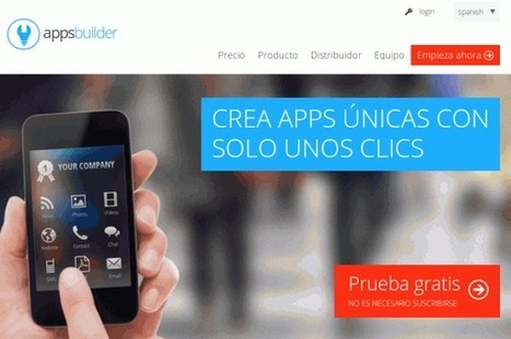 Appsbuilder, para crear aplicaciones para móviles, ya llegó a España   ICT hints and tips for the EFL classroom   Scoop.it
