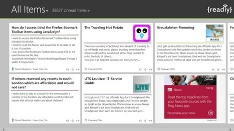 Readiy Is A Full-Featured Feedly Client For Windows 8 & RT | Time to Learn | Scoop.it