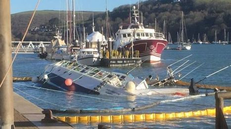 French boat sank in Devon harbour due to 'language difficulties' - BBC News   Language Learning Means and Methods   Scoop.it
