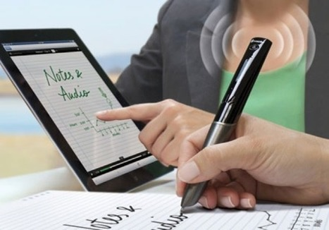 Livescribe Sky Pen Sends Handwritten Notes To Evernote Via Wi-Fi | Gorgeous Gadgetry | Scoop.it