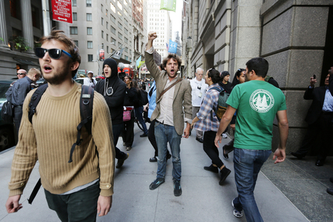 As many as 100 arrested at Occupy protest on one-year anniversary | #ows | Scoop.it