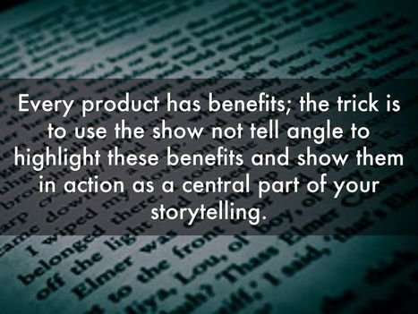 How 3 Big Brands Use Storytelling to Make Everyday Products Exciting | Learn SEO | Scoop.it