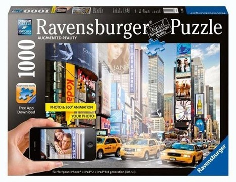Ravensburger Augmented Reality Puzzle & App - MustHaveApps.de | Augmented Reality Tech | Scoop.it