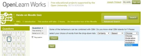 Awesome Moodle Quiz tutorial and guide by the OpenU available on Moodle.net | Teaching Ideas and Tools | Scoop.it