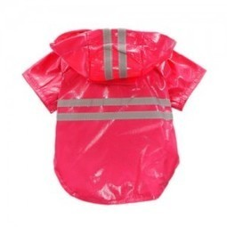 Honey Pet Dog Cat Clothes Transparent Raincoat Waterproof Adjustable Rain Clothing For Small Dogs Chihuahua Teddy With Hood Xs-xxl To Suit The PeopleS Convenience Pet Products Dog Raincoats