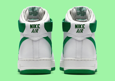 Nike Air Force 1 Hi 'St. Patrick's Day' | #Design | Scoop.it