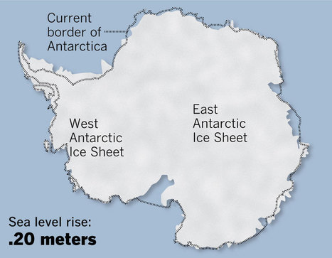 'A dire prediction' on melting ice sheets and rising sea levels | Antarctica | Scoop.it