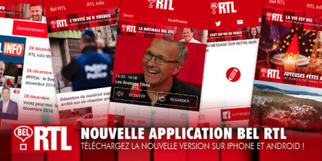 Une nouvelle application pour Bel RTL | La Lettre Pro | Radio 2.0 (En & Fr) | Scoop.it