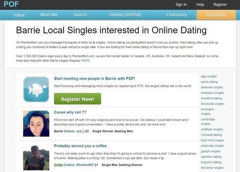 Barrie singler dating voksen kvinne enkelt nedlasting