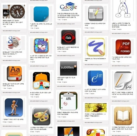 100+ Great Educational iPad Apps for Teachers | Elementary Special Education | Scoop.it