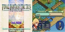 Retro Gaming News 132: Final Fantasy Tactics Advance: Anarchy ... | Everything Gaming | Scoop.it