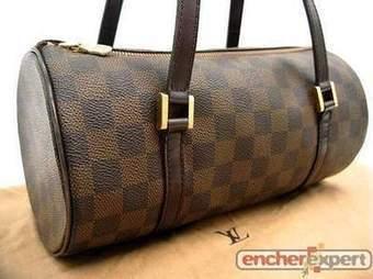 SAC A MAIN LOUIS VUITTON PAPILLON 28 BAGUETTE DAMIER MARRON HAND BAG PURSE 650€ | Les sacs et accessoires de luxe Vuitton, Chanel et Hermès | Scoop.it