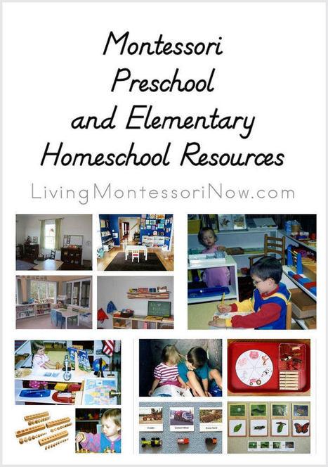 Montessori Preschool and Elementary Homeschool Resources | Montessori Inspired | Scoop.it