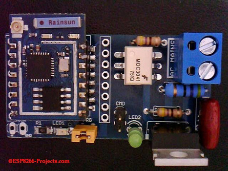 Switch Mains Power with an ESP8266   Arduino, N