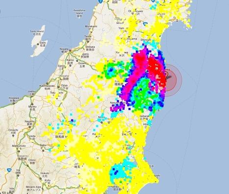 [Eng] Carte des mesures de radiations officielles à jour | MEXT | Japon : séisme, tsunami & conséquences | Scoop.it