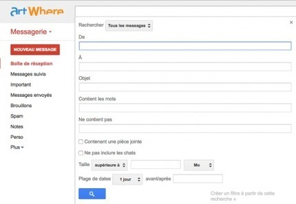 La recherche avancée dans Gmail | netnavig | Scoop.it
