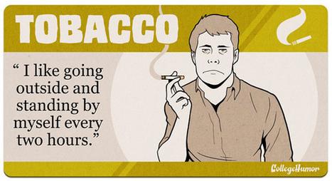 Tout ce que l'on dit en consommant une drogue   freehand illustration and graphic design   Scoop.it