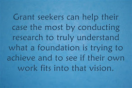 Inside Philanthropy: Grant seekers should focus ask on fit with grantmaker's mission and goals   The Charitable Sector   Scoop.it