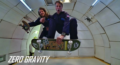"""A Few Things I Learned While Attempting To """"Skate"""" In Zero Gravity 