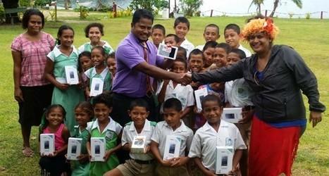 Kioa Primary School Goes Online | Fiji Sun | Ne