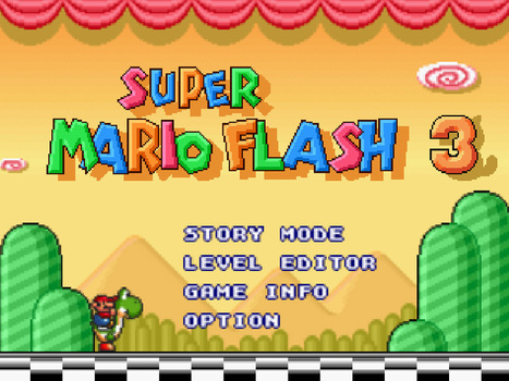 Super Mario Flash 3 Unblocked | Unblocked Games