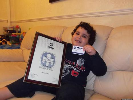 3-Year-Old Genius Becomes One Of Mensa's Youngest Members | Xposed | Scoop.it