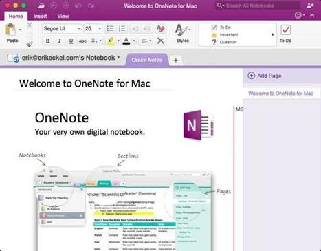 OneNote 2016 for Mac deserves wider adoption | BYOD in Business | Scoop.it