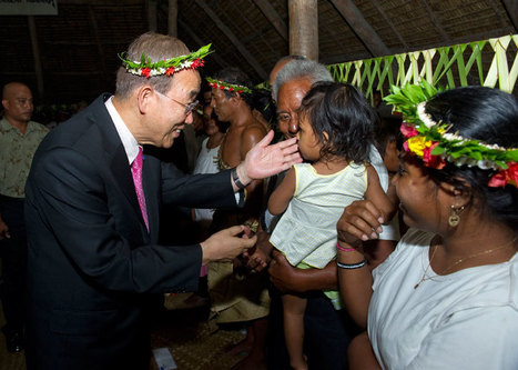 UN chief and Kiribati leader warn over climate change threat to Pacific islands   Climate Change, Agriculture & Food Security   Scoop.it