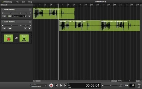 Melosity: editor de audio online totalmente gratuito — Medium | Herramientas digitales | Scoop.it