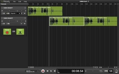 Melosity: editor de audio online totalmente gratuito — Medium | Herramientas digitales | Scoop.it