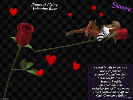Wearable Flying Valentine Rose Group Gift by Sunora | Teleport Hub - Second Life Freebies | Second Life Freebies | Scoop.it