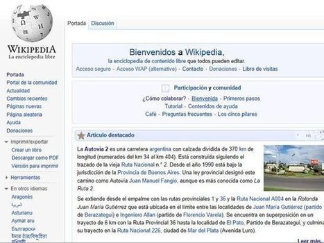 Chile in the countries that contribute to Wikipedia | Museums & Wikipedia | Scoop.it