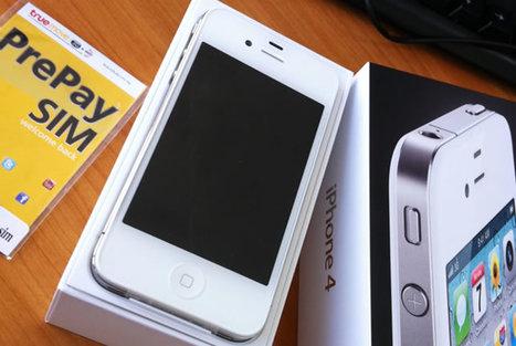 มาดูกันว่า iPhone4 สีขาวดีกว่าสีดำยังไง เทียบความต่างกันเห็นๆ | Butthun | Scoop.it