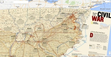 Google Launches Maps Gallery To Make Public Data Maps More Discoverable | cartography | Scoop.it