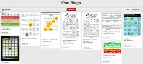 Flip & Gamify your PD with 8 iPad Bingo Boards | Technologies in the Elementary Classroom | Scoop.it