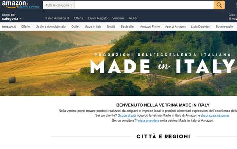 Dal Piemonte ad Amazon, l'artigianato d'eccellenza valorizza online il made in Italy | Girando in rete... | Scoop.it