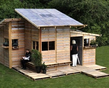 Pallet House Prototype by I-Beam Design | Sustainable Futures | Scoop.it