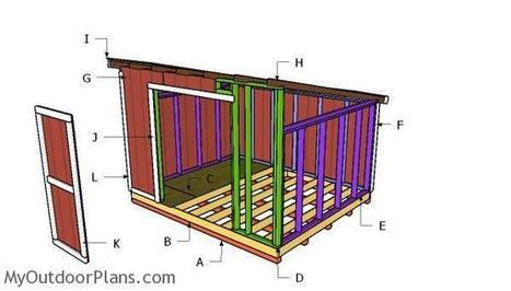 12x20 Lean To Shed Roof Plans Myoutdoorplans