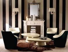 Decorating With Stripes for a Stylish Room | Designing Interiors | Scoop.it